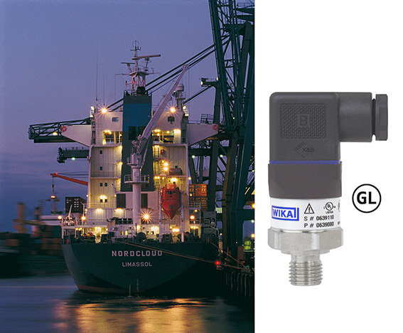 A-10 pressure transmitter now available with GL approval