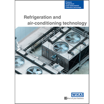 WIKA presents a brochure for refrigeration and air-conditioning applications